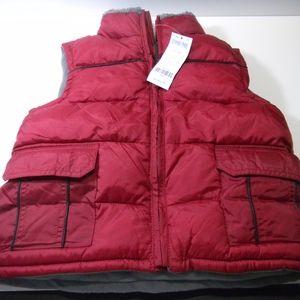 NWT Gymboree boys red puffer vest sz XS (3-4)